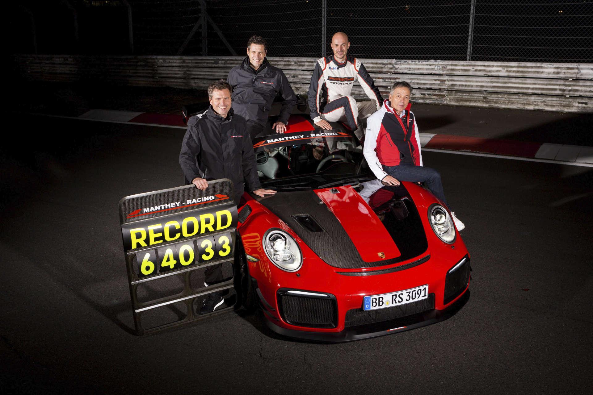 Lars Kern Schneller ist keiner 25 Jahre Manthey Racing