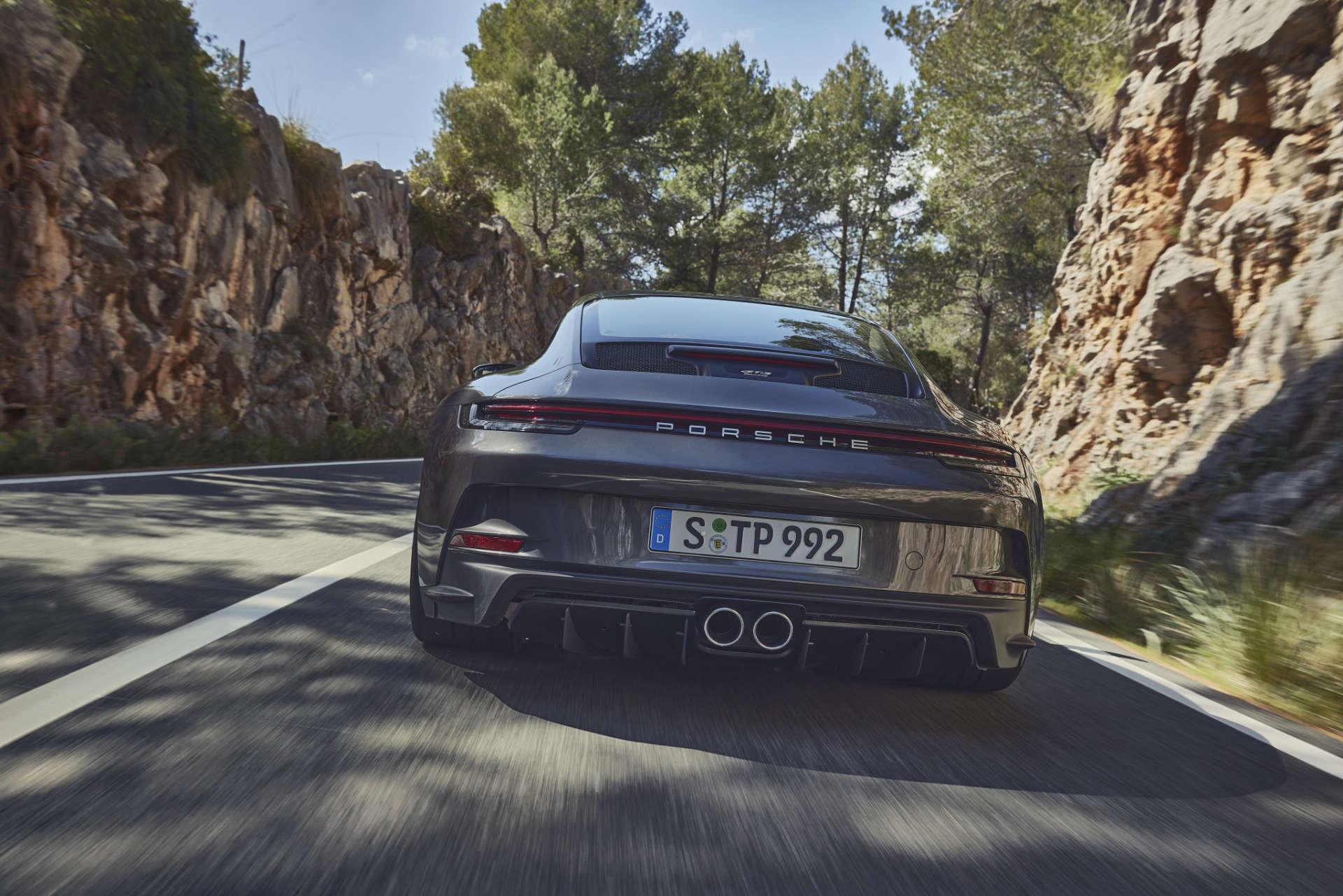 911 GT3 Touring-Paket Heck