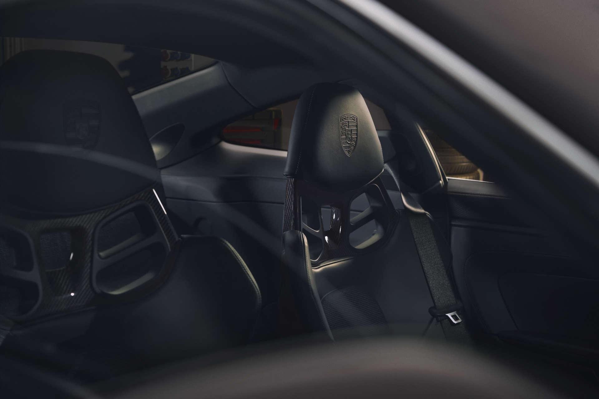Porsche 911 GT3 Touring-Paket Sitze
