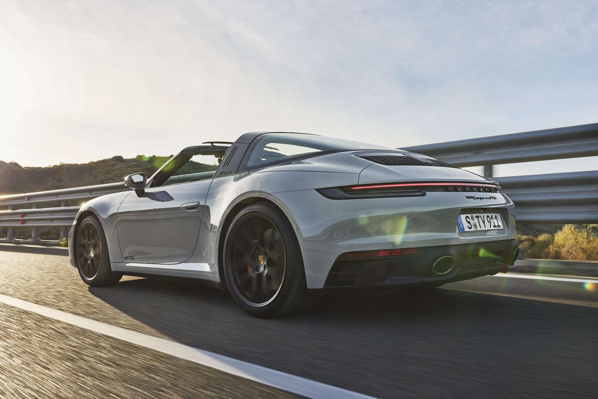 Porsche 911 Targa GTS Fahrt