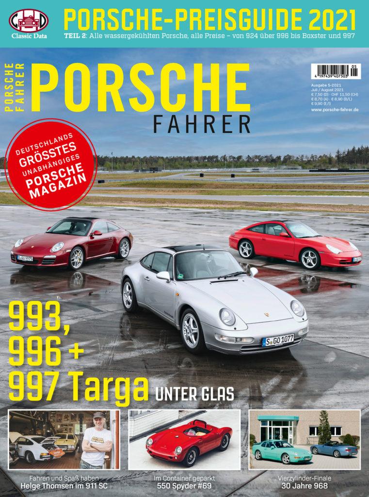 PORSCHE FAHRER Ausgabe 5-2021