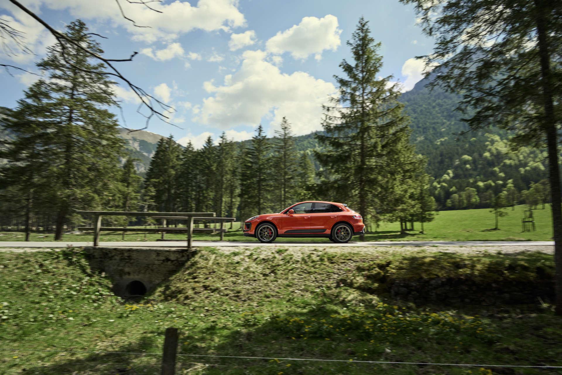Porsche Macan 2021 Seite