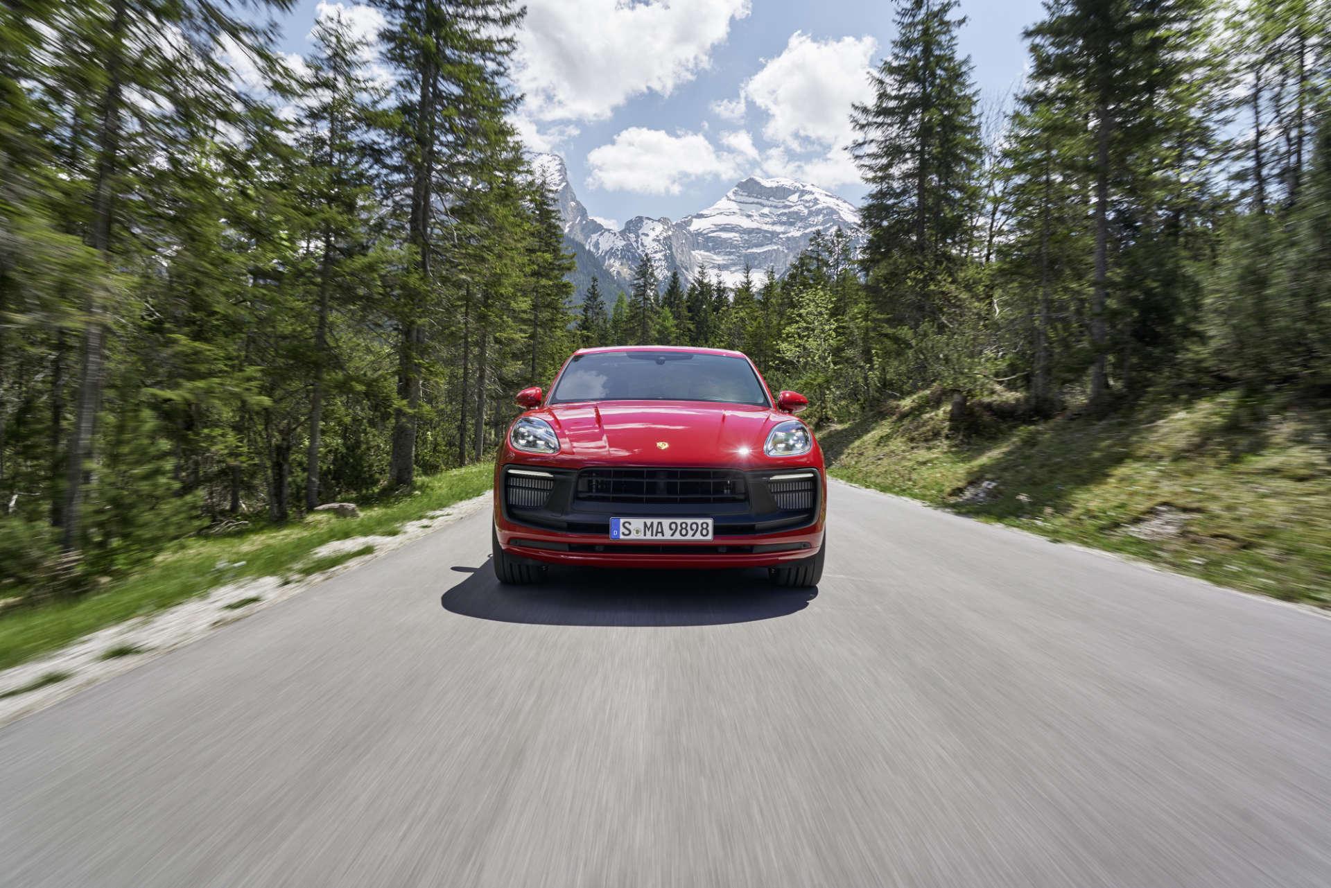 neue Porsche Macan Front