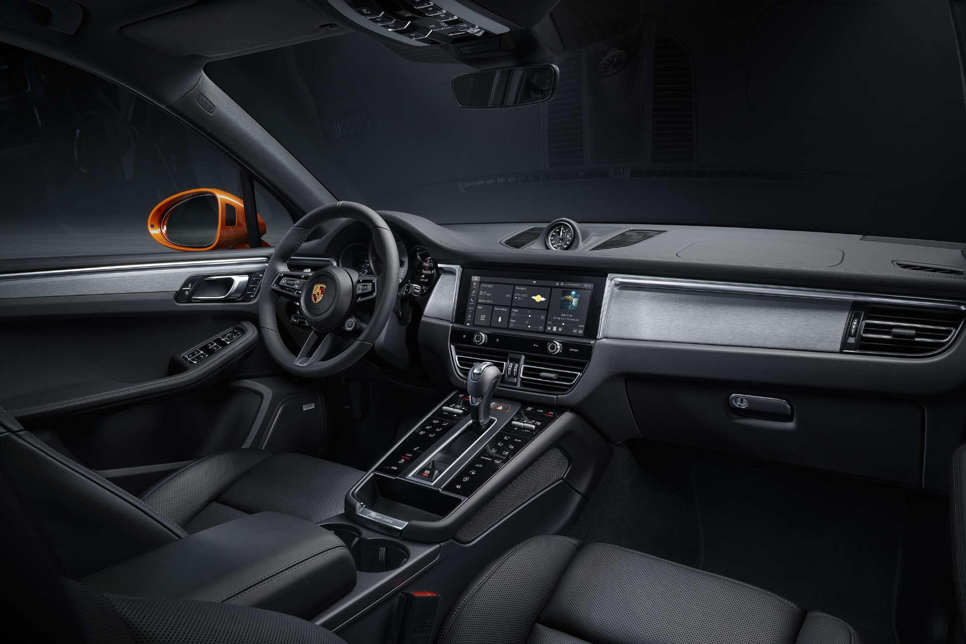 neue Porsche Macan Interieur