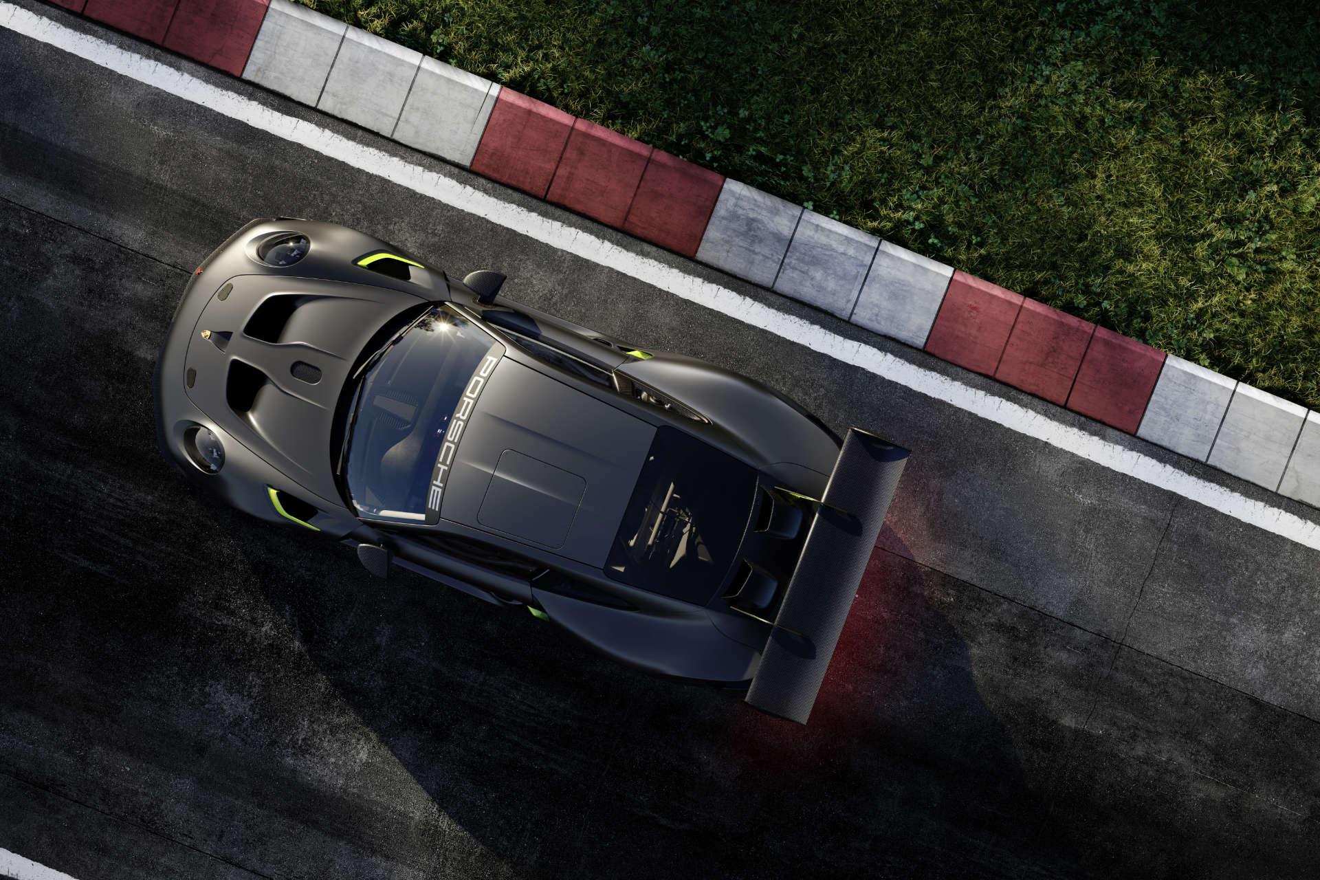 911 GT2 RS Clubsport 25 Manthey oben