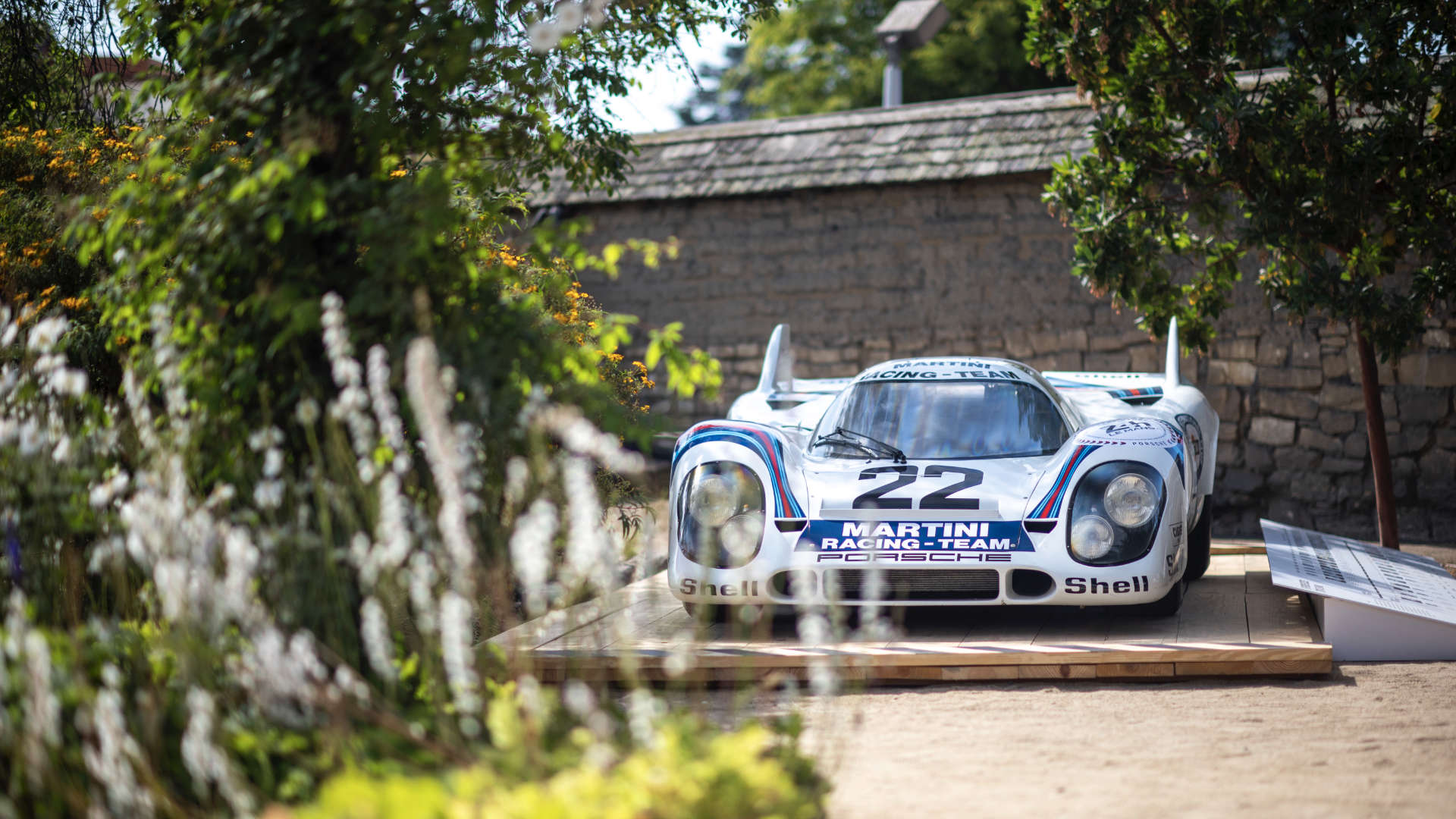 Monterey Car Week Porsche 917 Front