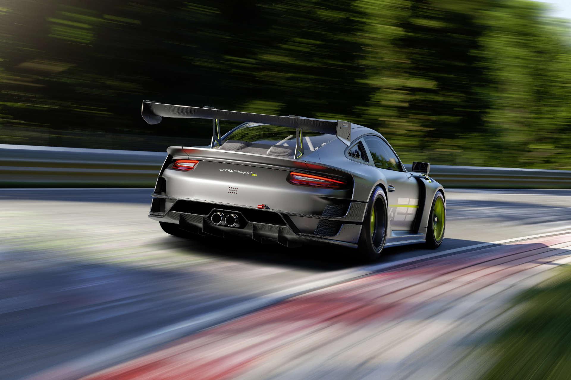 Porsche 911 GT2 RS Clubsport 25 Fahraufnahme