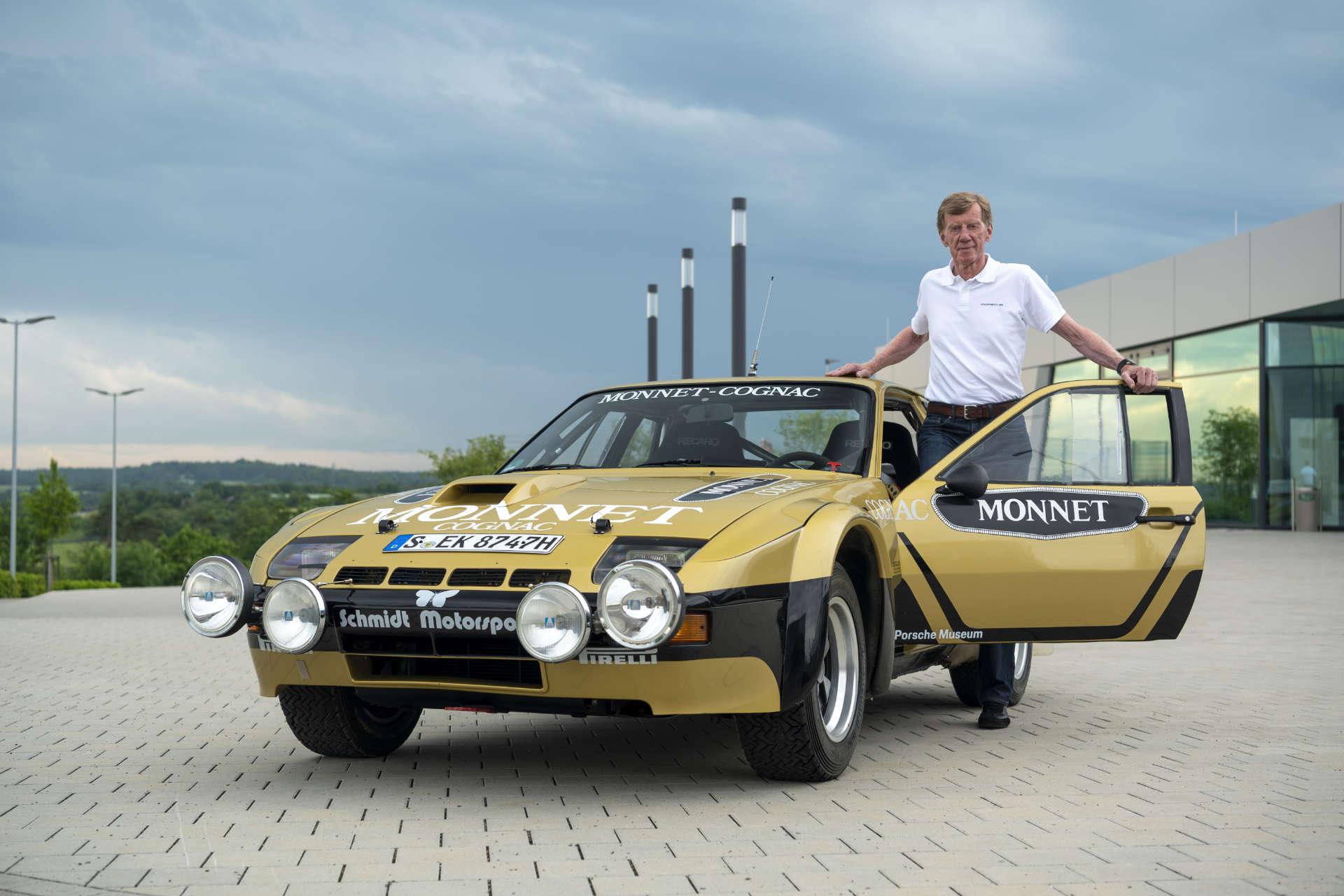 Porsche Sound Nacht 2021 Walter Röhrl 924 Monnet