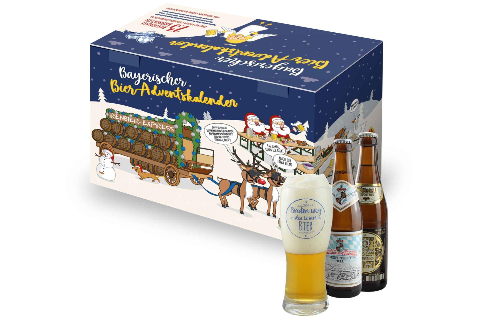 Bayerischer Bier Adventskalender 2021