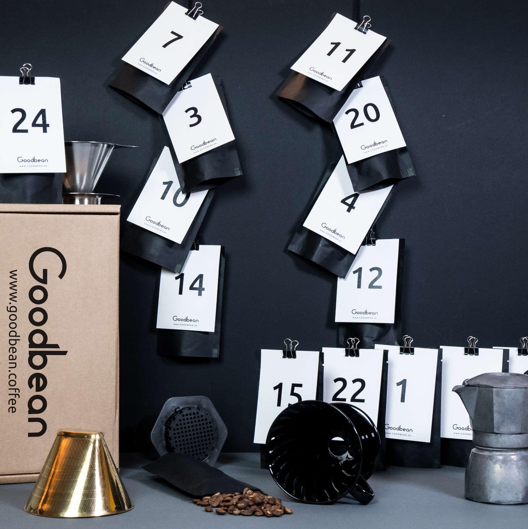 Goodbean Kaffee Adventskalender 2021