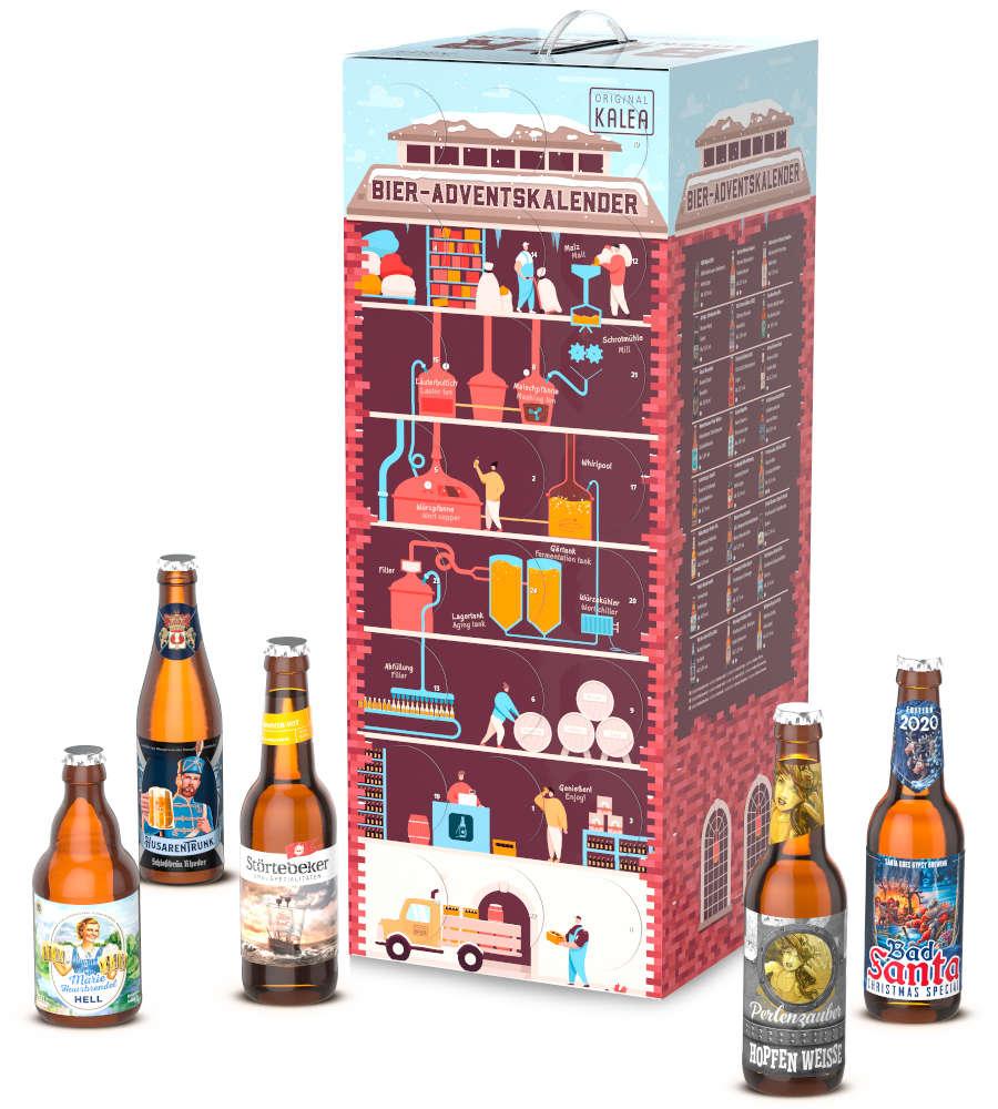 Kalea Bier Adventskalender Brauturm 2021