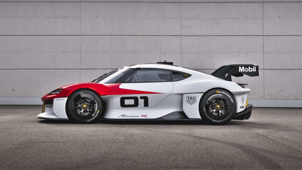 Porsche Mission R Seite
