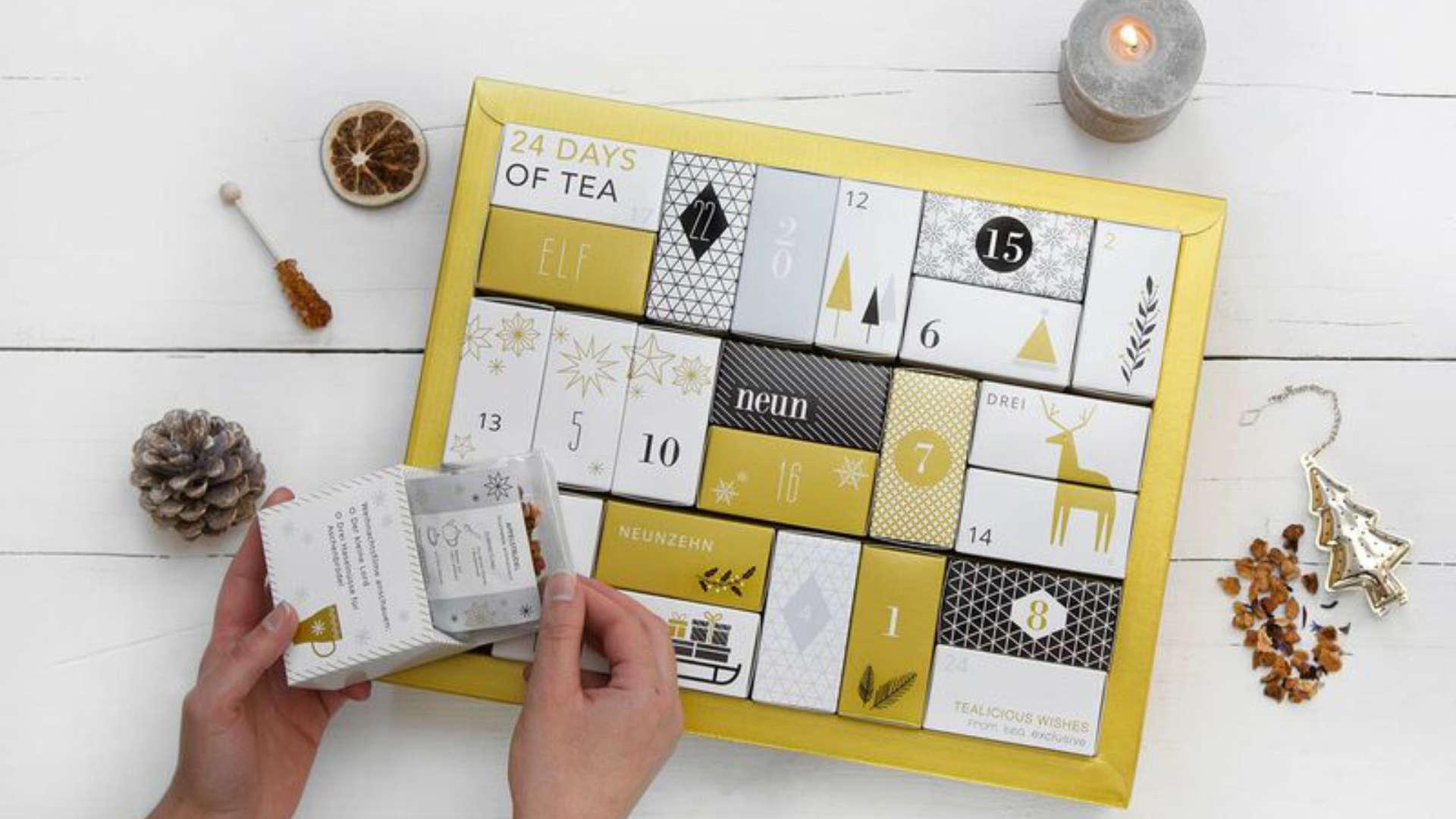 Tee Adventskalender 2021 Gold Edition
