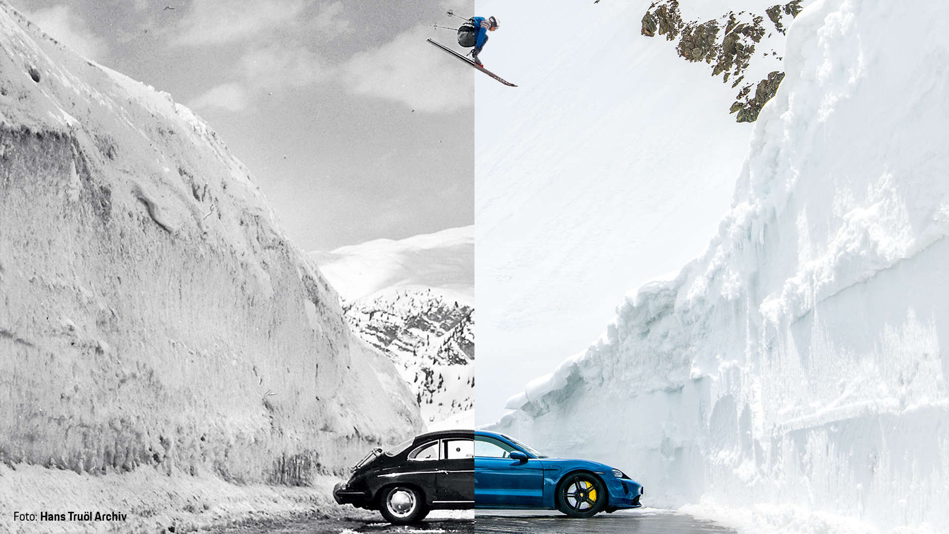The Porsche Jump Collage