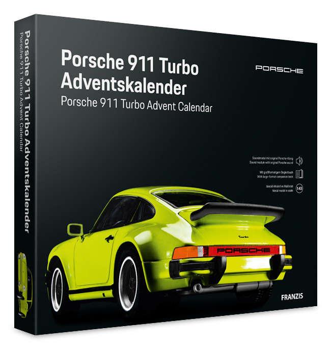 Porsche 911 Turbo Adventskalender